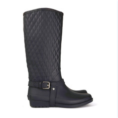 Kembla black rubber wellies