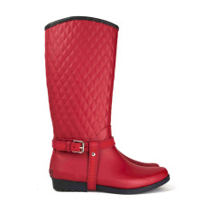 Kembla red rubber wellies