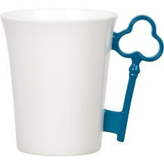 Blue key handle mug