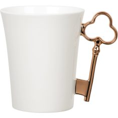 Bronze key handle mug