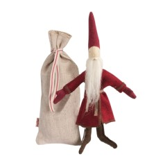 Micro Santa Doll with Sack