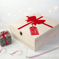 Personalised All Wrapped Up Christmas Eve Box - Large