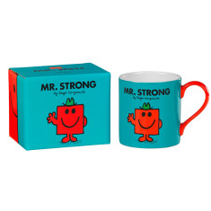 Mr Men ceramic mug Mr Strong