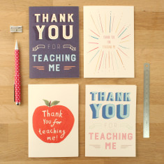 Thank You Teacher Cards