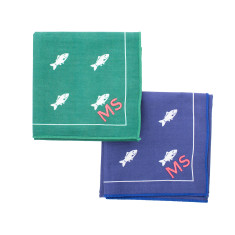 Hobby Personalised Embroidered Handkerchief Set