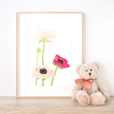 Fleur Éclose Print