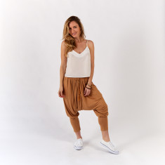 Caramel gypsy pants