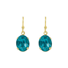 Deep ocean earrings