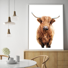 Hairy highland #3 art print (various sizes)