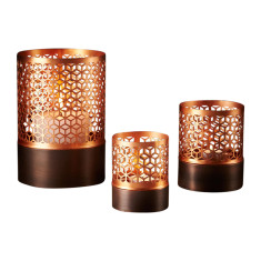 Honeycomb votives (set of 3)