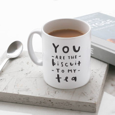 Biscuit To My Tea Mug