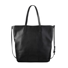 Fire on the Vine leather bag in Black