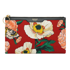 Wouf pocket clutch in jardin print