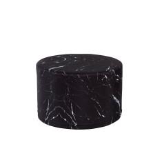 Woouf Ottoman - Black Marble