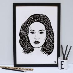 Adele print