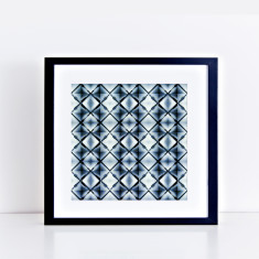 shibori sunrise – limited edition fine art giclee print