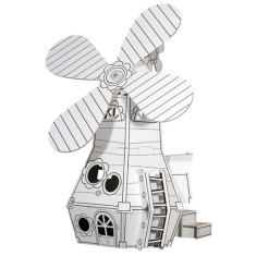 Calafant cardboard windmill