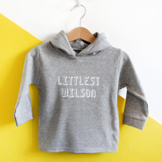 Littlest Family Member Personalised Hoody