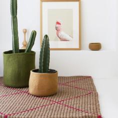Potala felt ball rug