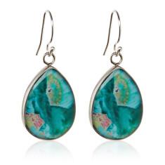 Clementine teardrop earrings