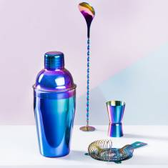 Iridescent Cocktail Making Set