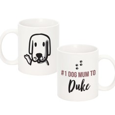 NO.1 Dog Mum Ceramic Mug
