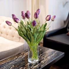 Bouquet of tulips - four colours available