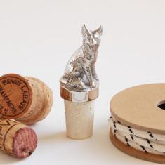 Fox Bottle Stopper