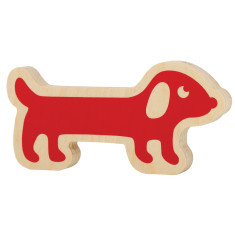 Red sausage dog