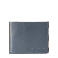Alfred leather wallet in slate