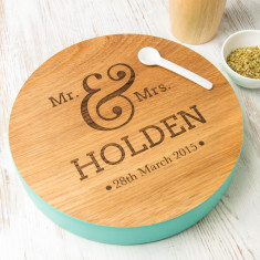 Personalised Anniversary Wooden Board