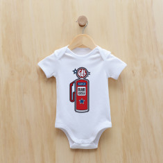 Personalised petrol pump bodysuit