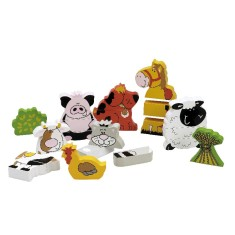 Tidlo farm animal magnets