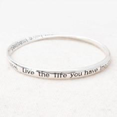 Live the life bangle