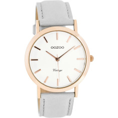 Slimline rose gold vintage watch (various colours)