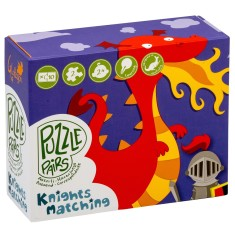 Knights & dragon puzzles (2 box bundle)