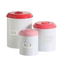 Storage tins (set of 3)