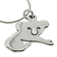 Aussie koala sterling silver necklace
