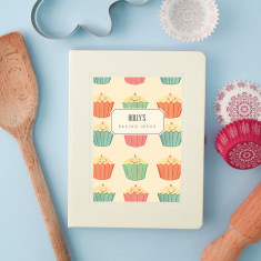 Personalised Baking Notebook