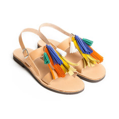 Sandalaki Handmade Greek Sandals In Multi Colour