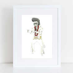 Elvis Cockatoo - Limited Edition Fine Art Print