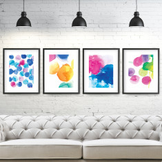 Hot Spots Wall Art Print Pack (set of 4)