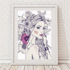 Arielle Blooms Print