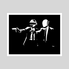 Daft Fiction art print