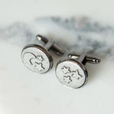 Moon and Back Cufflinks