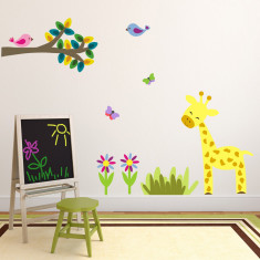 Branch With Giraffe Wall Sticker