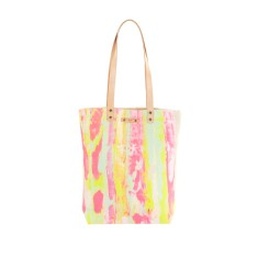 Rainbow splash tote
