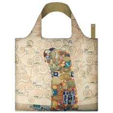 LOQI reusable bag in museum collection in gustav klimt