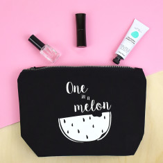 One In A Melon Makeup Wash Bag