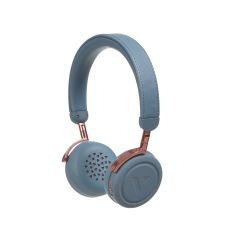 VAIN STHLM Commute Wireless Bluetooth Headphones in slate blue
